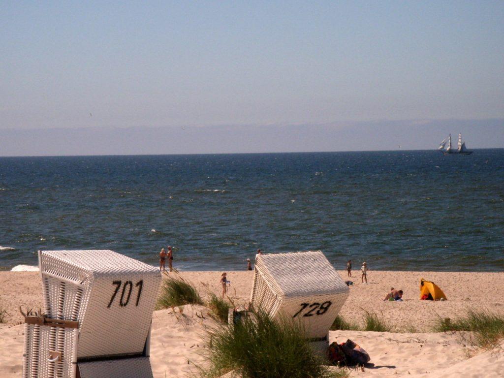 Strand in Westerland Sylt